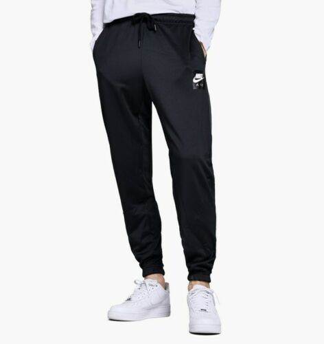 Nike Air Sportswear Men/'s Pants AJ5317-010 Black//White//Grey sz L 2XL