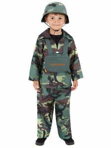 Jungen Kostüm Soldat Fallschirmspringer Kinder Army Soldier Armee Militär