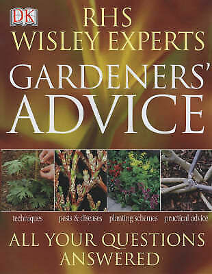 """AS NEW"" RHS Wisley Experts Gardeners' Advice (Royal Horticultural Society), Roy"