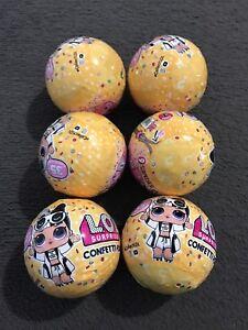 LOL Surprise Confetti Pop Series 3 Wave 2 X 6