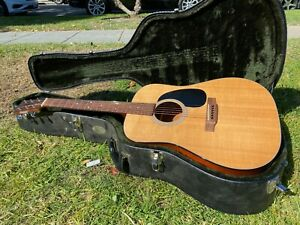 2010 Martin D-18 Dreadnought Standard Acoustic Guitar with Case