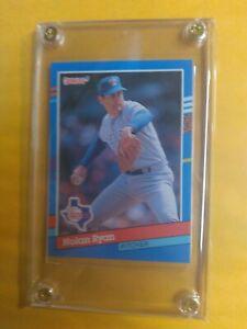 1991 Donruss Nolan Ryan Error Card. No . After Inc  Pack Fresh. Gradable card