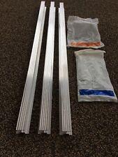 Chain Glide Garage Door Rail Kit Set
