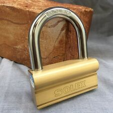 85 mm Solid Brass Padlock Hardened Shackle Security Container Gate Locks Garage