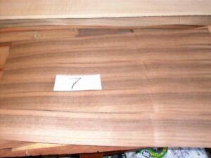8 Blätter Nachdenklich Franz # 7-67 Cm Lang X 7/8 Cm Breit Nussbaum Furniere