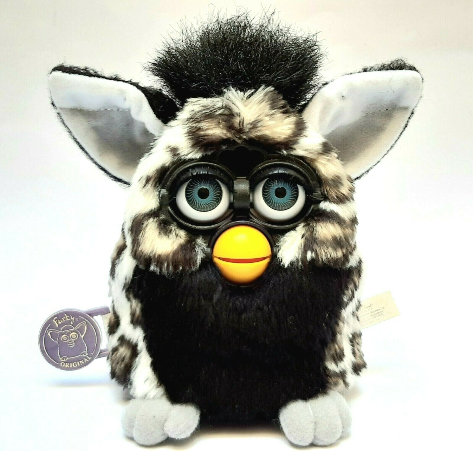 Furby 1998 Model 70-800 HUSKY SERIES 6 Blau EYES Tiger Electronics - VERY RARE
