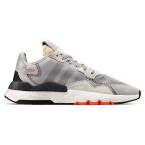ADIDAS-ORIGINALS-Sneakers-da-uomo-scarpe-Nite-Jogger-EU-40-Grigio-Bianco-Sport