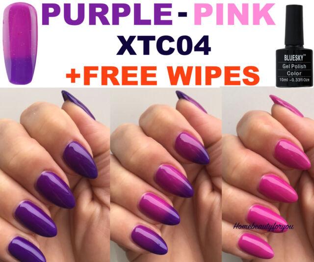 Bluesky Xtc04 Chameleon Colour Change Purple-pink Nail GEL Polish UV ...