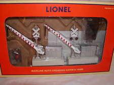 Lionel 6-14098 Mainline DC Auto Crossing Gates 2 pack MIB Train Accessory O-27