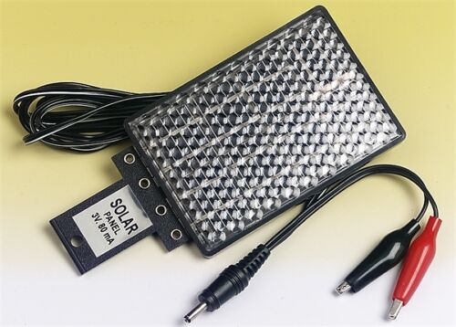 Solar Panel Charger 3V Output Trickle charger for Batteries Mobiles etc