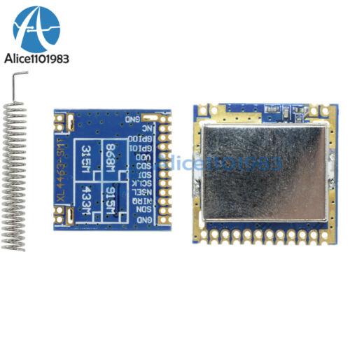 Spring Antenna Mini SI4463 2000M 433Mhz Remote Wireless Transceiver Module