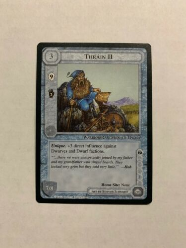 The Dragons Middle Earth CCG Thrain II