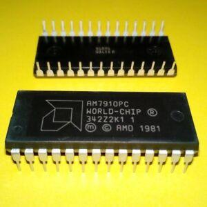 1pcs AM7910PC IC WORLD-CHIP FSK Modem AMD IC PDIP-28