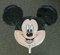 New Disney Anagram Mickey Mouse Head Mylar Balloon LARGE Party Decorations