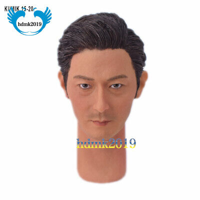 """1//6 Male Head Model Carve A-20 Male Head Carving Bearded for 12/""""action figures"""