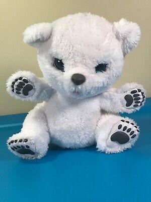 New Furreal Snifflin' Sawyer Polar Bear Cub makes real noises!
