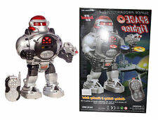 New Remote Control Space Fighter Robot Toy Walking, Dancing, Shooting & Sliding
