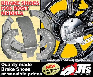 Freno Trasero Zapatos vb309 para adaptarse a Kawasaki Kx250 A1 y A2 / A3 (74-77)