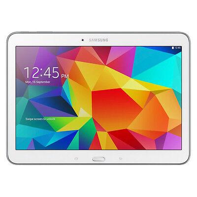 Samsung Galaxy Tab 4 SM-T530 16GB, Wi-Fi, 10.1in - White Very Good Condition