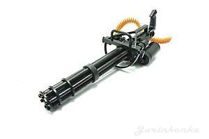1:6 Scale M134 Minigun Gatling Machine Gun 16CM TERMINATOR For Action-Figur J2U4