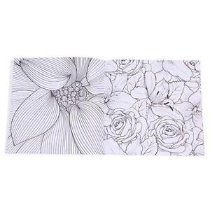 Image Is Loading HOT Adults Secret Garden Of Flowers Monogatari Painted