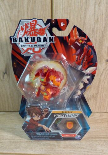 Brand New Bakugan Battle Planet Pyrus Zentaur Bakucores Toy