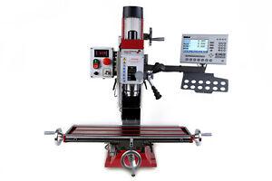 Paulimot perforación -/fresadora f307-v con motor frequenzgesteuertem y sistema de medida