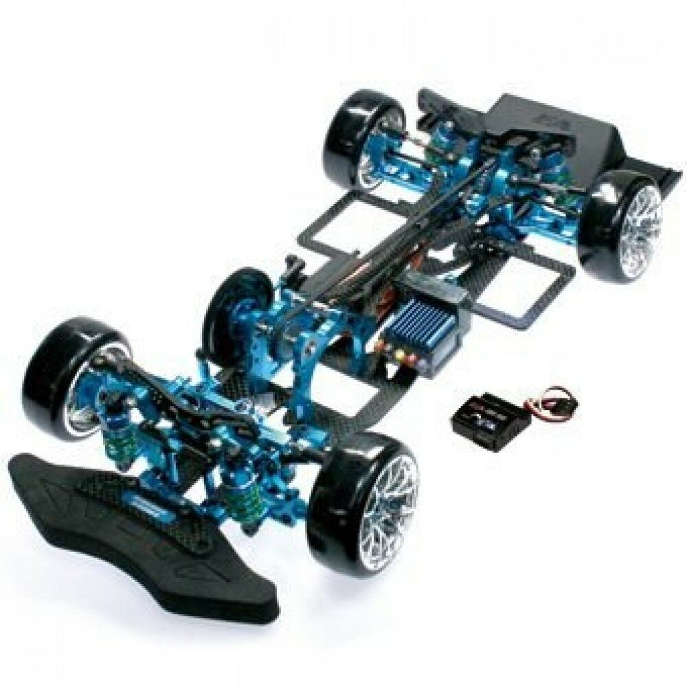 Eagle TA05-RWD-LBL 1 10 Scale RWD GRT Chassis Kit Light bluee From Japan New