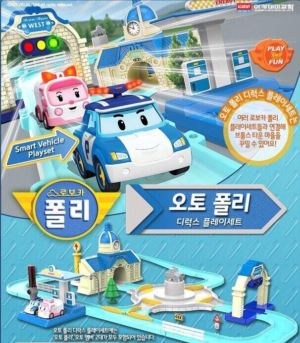 Robocar Poli - Car Poli Deluxe Play Set