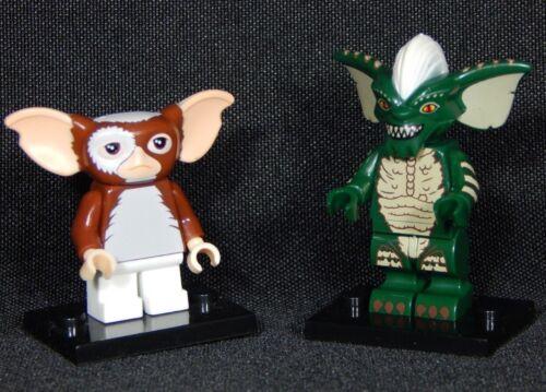 Gremlins Set of 2 Minifigs Gizmo Stripe Mogwai Block Toys Free Ship