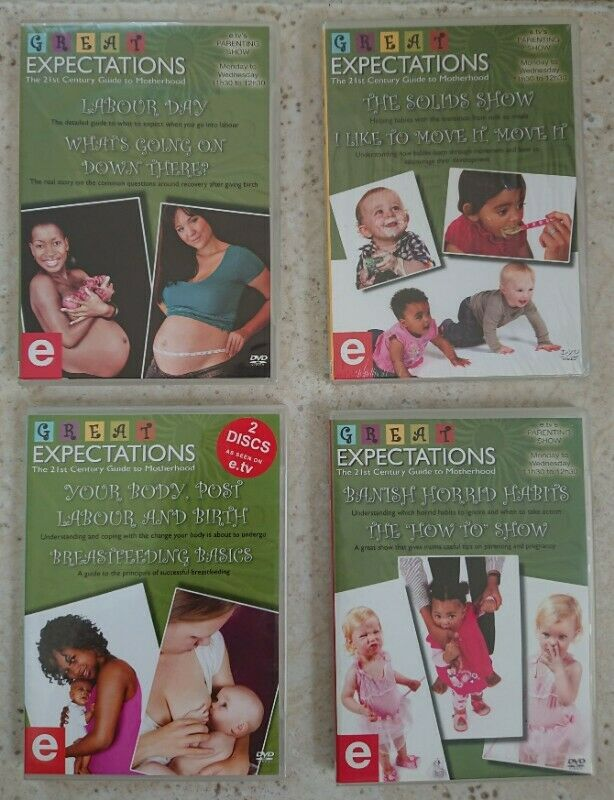 Great Expectations Guide to Motherhood DVD set
