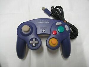 J461 Nintendo GameCube official Controller Clear Violet Japan GC x