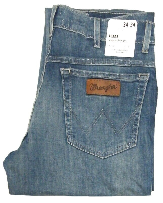 Wrangler Texas Stretch Summer Jeans - Airy - Size W32 - W44 W121QA14Q 1.wahl