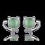 Cute-Solid-925-Sterling-Silver-Green-Opal-Cat-Ear-Stud-Earrings-Women-Jewelry thumbnail 1
