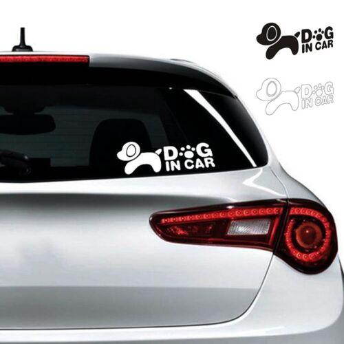 1PC Self Adhesive Fynny Car Sticker Dog In Car Waterproof Stylish Vinyl Decal