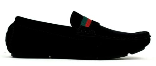 New Infant Boys Kids Casual//Formal Slip On Faux Suede Loafer Shoes EU Size 26-39