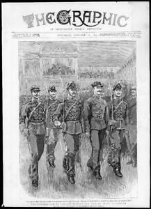 1895-Antique-Print-FRANCE-Captain-Dreyfus-Degradation-Ecole-Militaire-181