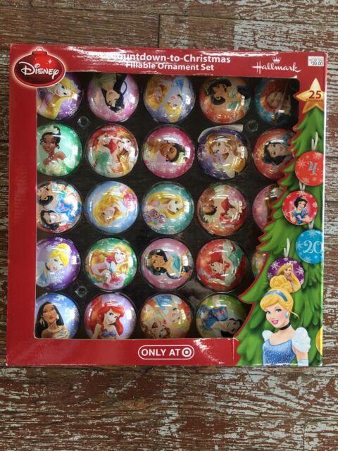 Hallmark Disney Countdown to Christmas Fillable Ornament ...