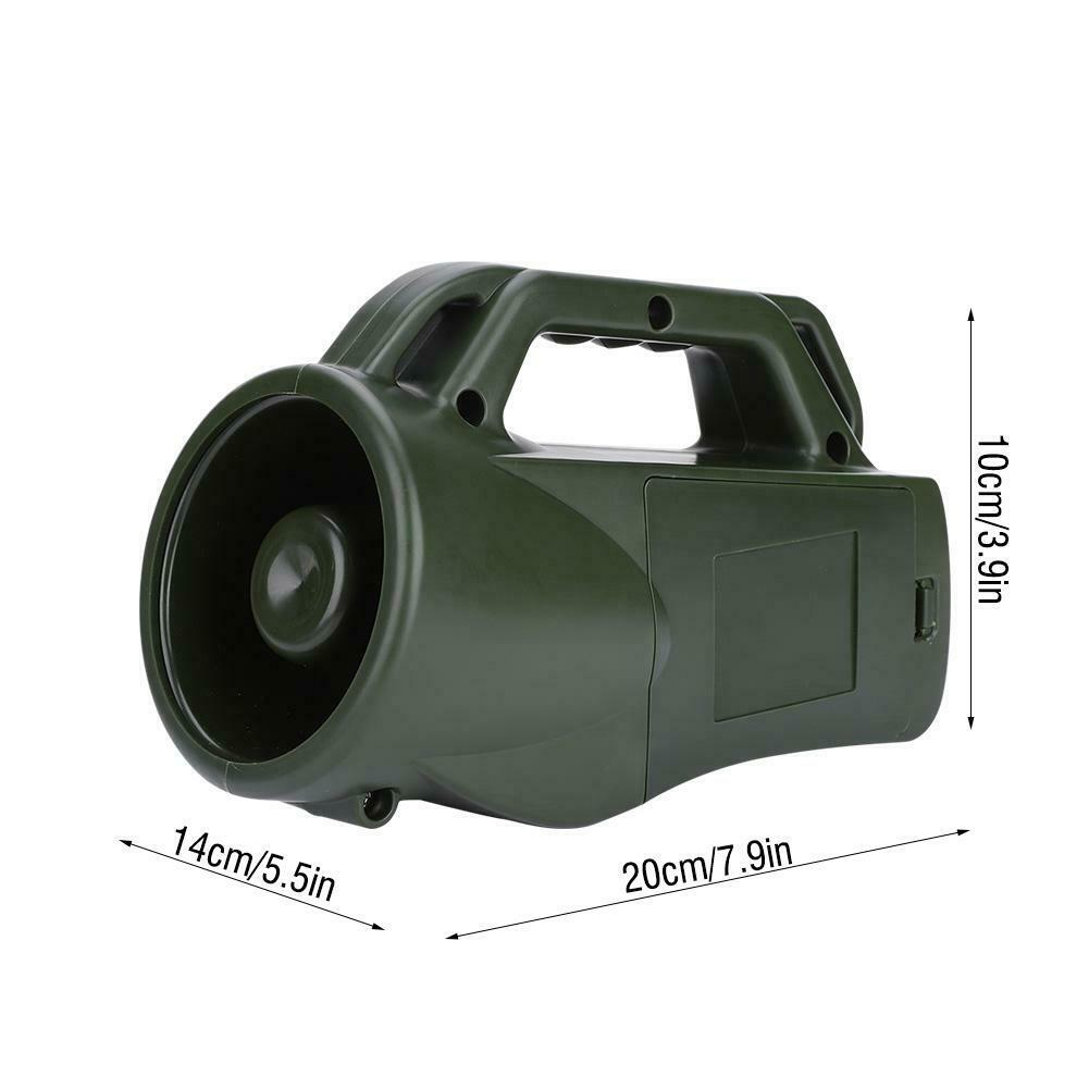 35W Hunting Speaker Bird Caller Amplifier Sound Decoy Player with Remote Control