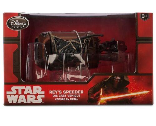 NEW Disney Store Star Wars The Force Awakens Rey/'s Speeder Die Cast Vehicle