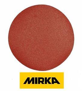 180-mm-Discos-de-Lijado-Mirka-7-pulgadas-Almohadillas-Papel-de-Lija-Grano-40-800-de-gancho-y-bucle