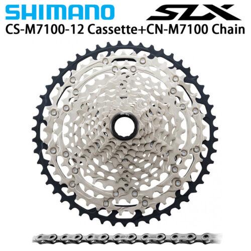 Shimano SLX CS M7100 12-speed Cassette sprockets CN M7100 12-speed Chain Set