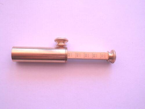 optional spout by Tedd Cash Brass Adjustable Powder Measure 0-50 grains