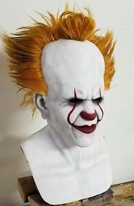 Custom-2017-034-IT-034-Pennywise-Premium-Silicone-Mask-Made-by-Shattered-FX