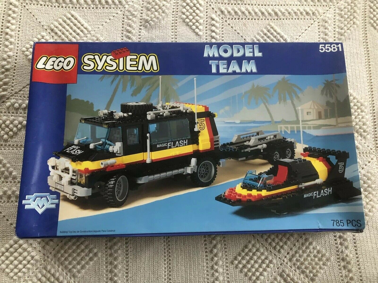 Lego Model Team  5581 Magic Flash