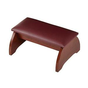 Personal-Padded-Kneeler-Walnut-Stain-Maple-Hardwood