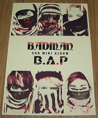 B.A.P BAP Badman WALL POSTER NEW