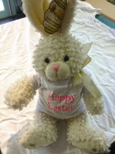 PERSONALISED SOFT RABBIT TOY - EASTER BUNNY BABY BIRTHDAY