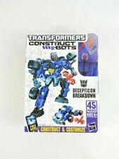 Construct-Bots THUNDERCRACKER Scout Class Transformers E1:04 G1 41 Pieces 2013
