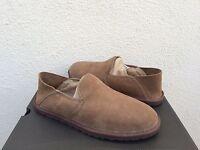 Ugg Cooke Dark Chestnut Suede/ Sheepskin Slippers, Mens Us 10/ Eur 43